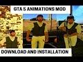 Gta sa gta 5 animations mod mp3