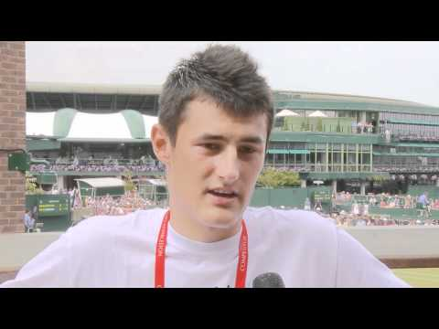 Bernard Tomic reaches Wimbledon quarterfinals: 2011 Wimbledon