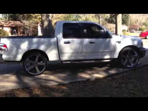 26 Inch Irocs On A Ford F150 Youtube