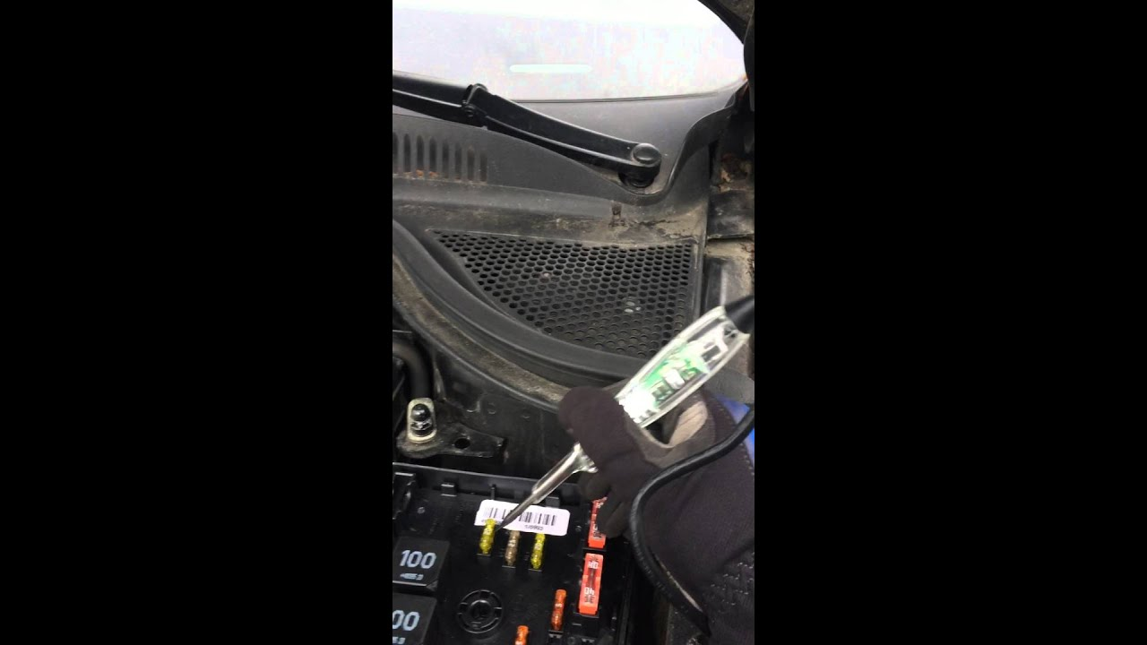 Fuse Box In The Engine Compartment  09 Vw Cc