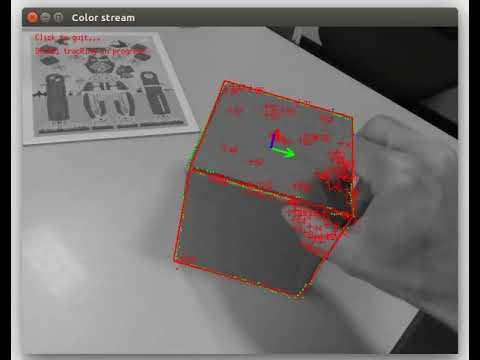 Visual Servoing Platform: Tutorial: Markerless generic model