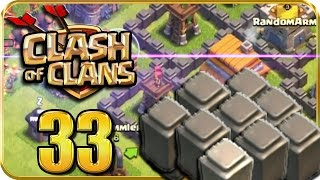 Let's Play CLASH of CLANS Part 33: Alle Mauern auf Level 4 verbessert!
