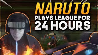 Shiphtur | NARUTO PLAYS LEAGUE FOR 24 HOURS!!!