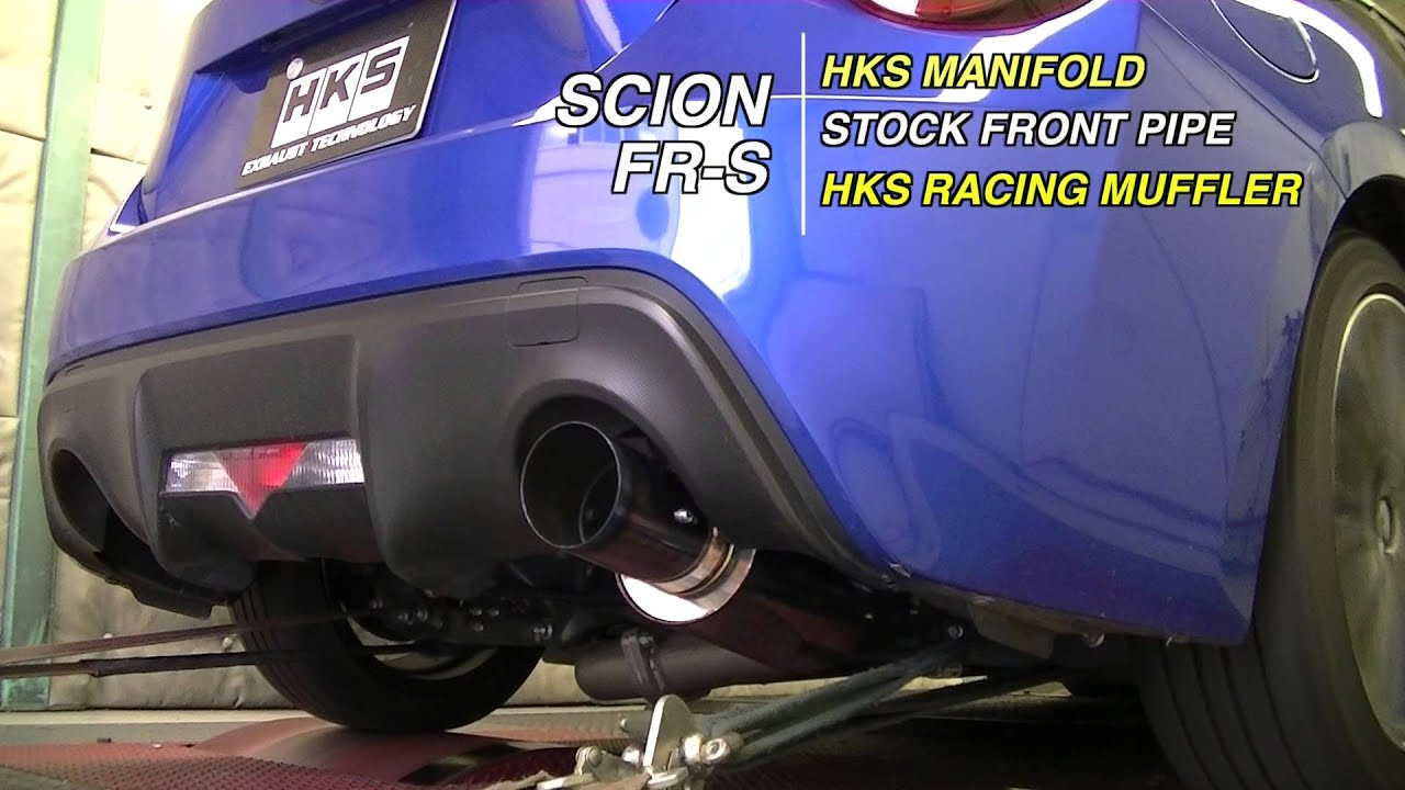 hks hi power racing version auspuffanlage fur toyota gt86 subaru brz