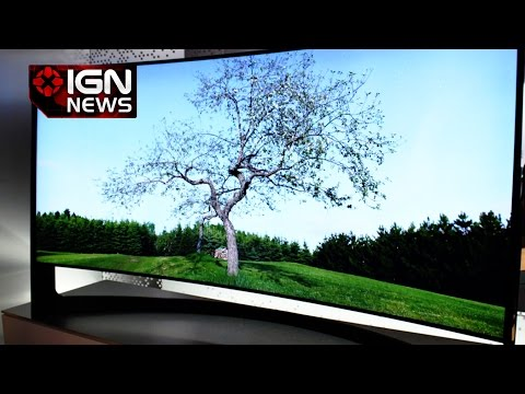 Samsung's 105 Inch Curved UHD TV Priced at $120,000 - IGN News