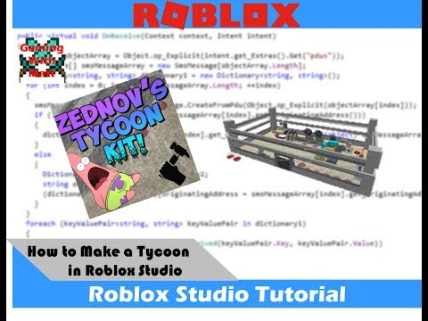 How To Make a Tycoon on Roblox Studio 2017