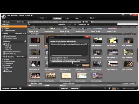 Clips löschen Pinnacle Studio 16 und 17 Video 28 von 114
