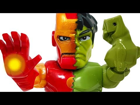 Cover Lagu Hulk and IronMan faces have changed! Defeat Thanos and get your face back! ❤️ Rachaman Toy stafamp3