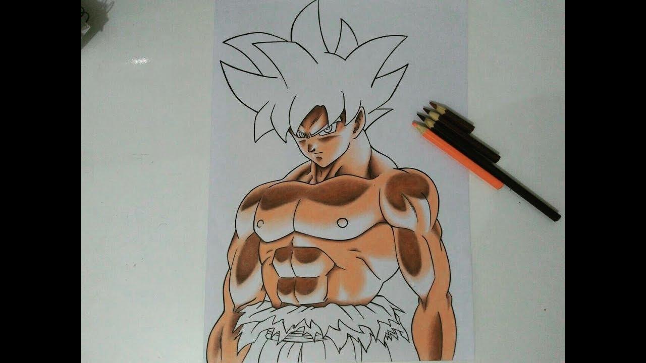 Desenhos Para Colorir Colorir Goku: Son Goku Dragon Ball Super