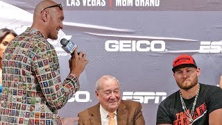\'The Gypsy King\' Tyson Fury vs Tom Schwarz * FULL FINAL PRESS CONFERENCE * in Las Vagas