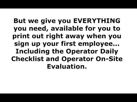 Aerial and Scissor Lift Certification - YouTube