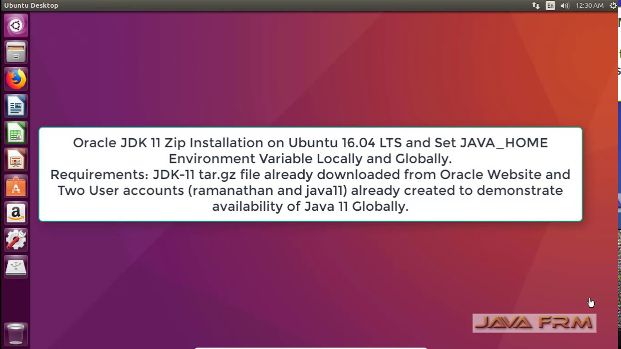 Oracle JDK 11 Zip Installation on Ubuntu 16 04 and Set JAVA_HOME  Environment Variable   Java 11
