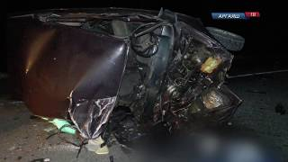 Страшное ДТП на автодороге Долгодеревенское — Кыштым
