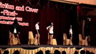 110903 baby blue cover shinee Hello +juliette japan+ Lucifer  @ KFC