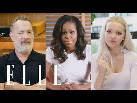 Michelle Obama, Dove Cameron, Misha Collins, and 10 Other Celebs on Their First Time Voting  ELLE