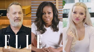 Michelle Obama, Dove Cameron and 11 Other Celebs on Their First Time Voting | ELLE
