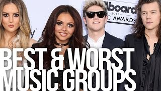 Best & Worst Dressed Music Groups
