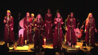 """Mediaeval Baebes - """"Auld Lang Syne"""" - Live in Williamsburg, Brooklyn, NY"""