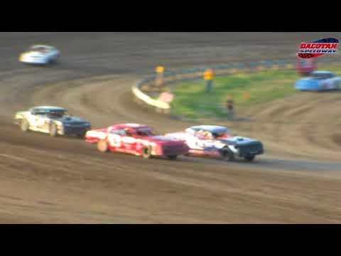 Dacotah Speedway WISSOTA Street Stock Heats (8/24/18)