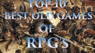 Top 10 - Melhores Jogos Antigos de RPG's para PC (Special 500) 2015 [Best RPG'S old for PC]
