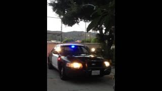 2007 Ford Crown Victoria Police Interceptor - Lights & Siren Test - 57,000 Miles