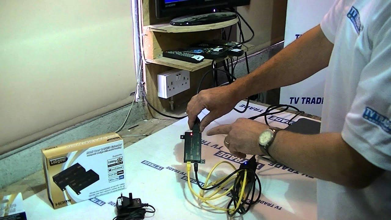 """6/"""" Cat5e RJ-45 to Dual RJ-45 F Ethernet T-Ad M"""