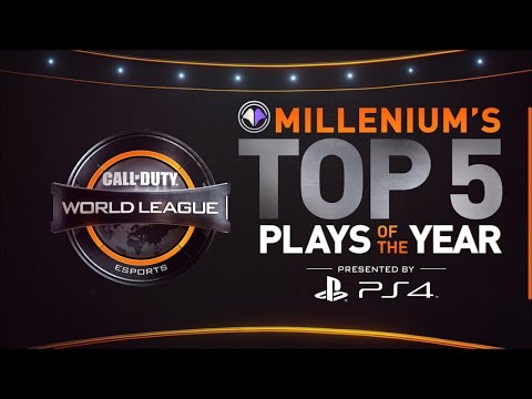CWL - PS4 Top 5 Plays of the Year [Millenium]