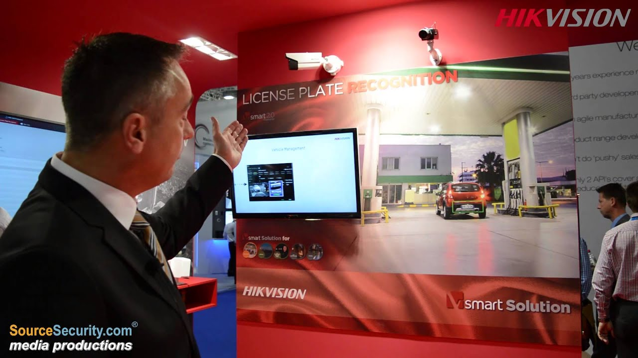 Hikvision Exhibits Cameras Intercom And Access Control