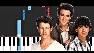 Jonas Brothers - Sucker (Piano Tutorial) Video