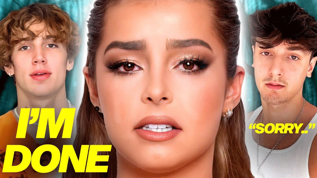 Download Addison Rae BREAKS DOWN Over Bryce Hall CHEATING?! Vinnie Hacker ATTACKS Malu Trevejo, James Charles