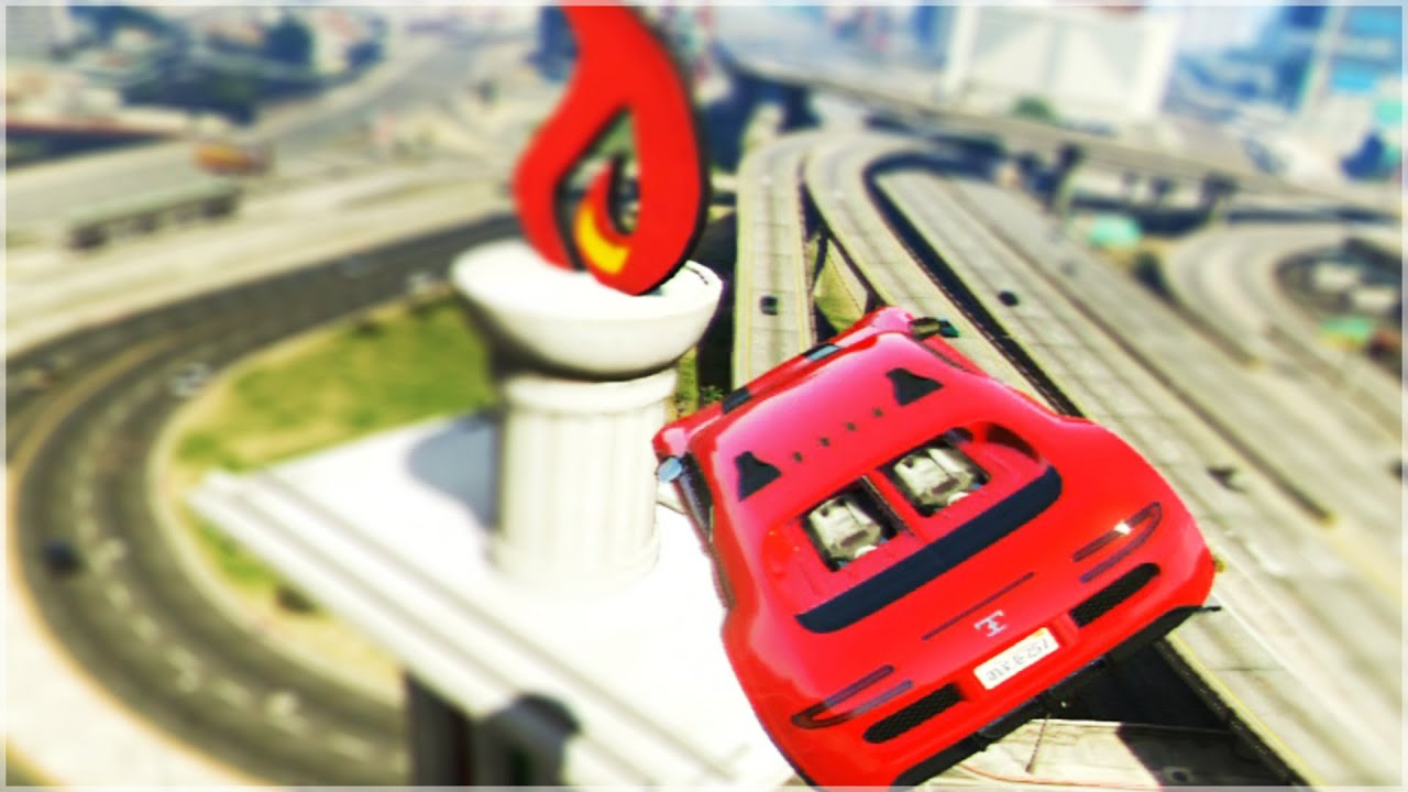 BEST GTA 5 STUNTS COMPILATION