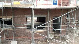 Wonderful Homes - 1st Floor Brickwork Continues On The 5 New Homes We're Building On Gospel Lane.mp4