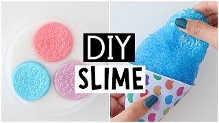 MAKING 4 AMAZING DIY SLIMES - Satisfying NO GLUE Slime Recipes!