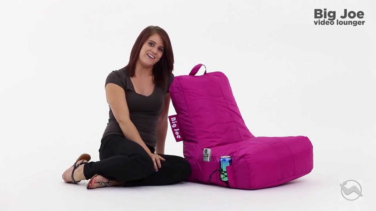 Comfort Research Big Joe Video Bean Bag Lounger