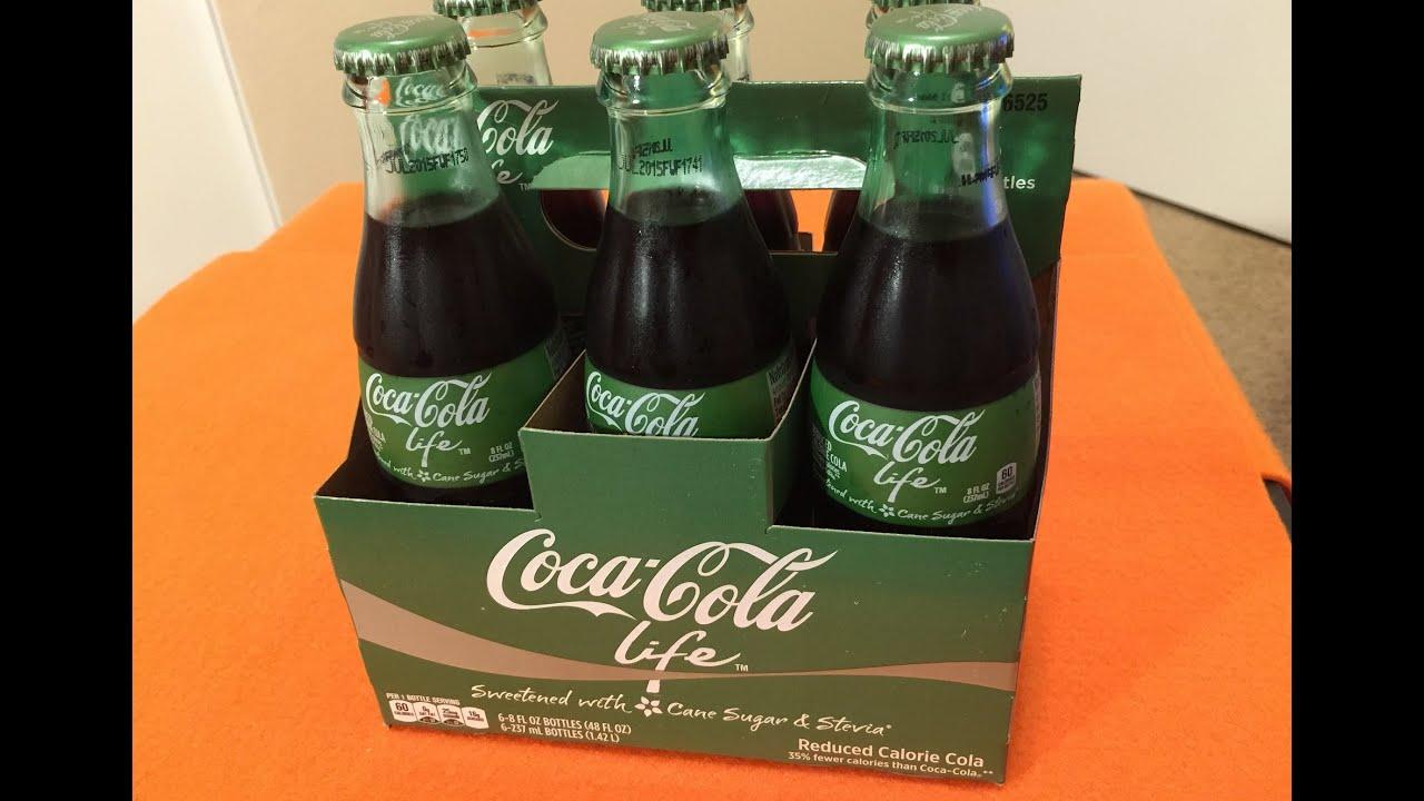 coca cola life review aka  u0026quot green coke u0026quot   not bad