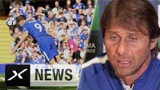 """Antonio Conte: """"Raum für Verbesserungen"""" bei Morata   FC Chelsea - Burnley 2:3   Premier League"""