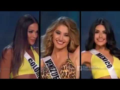 Miss Universe - The Power House Mexico, Colombia And Venezuela