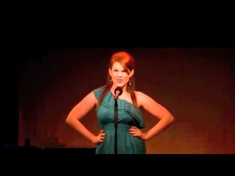 Emily McLoughlin singing 'Youve Got Possibilities'