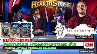 Noticias Hearthstone #3|Ben Brode AMA| Nuevos Skins | Arcbeetle