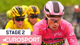 Giro d'Italia 2019 | Stage 2 Highlights | Cycling | Eurosport