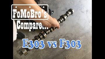 E303 cam vs F303 in a daily driver