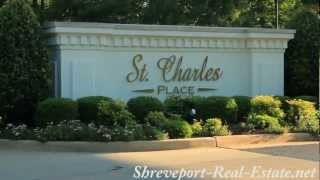 St Charles Place Subdivision Neighborhood - Shreveport, LA