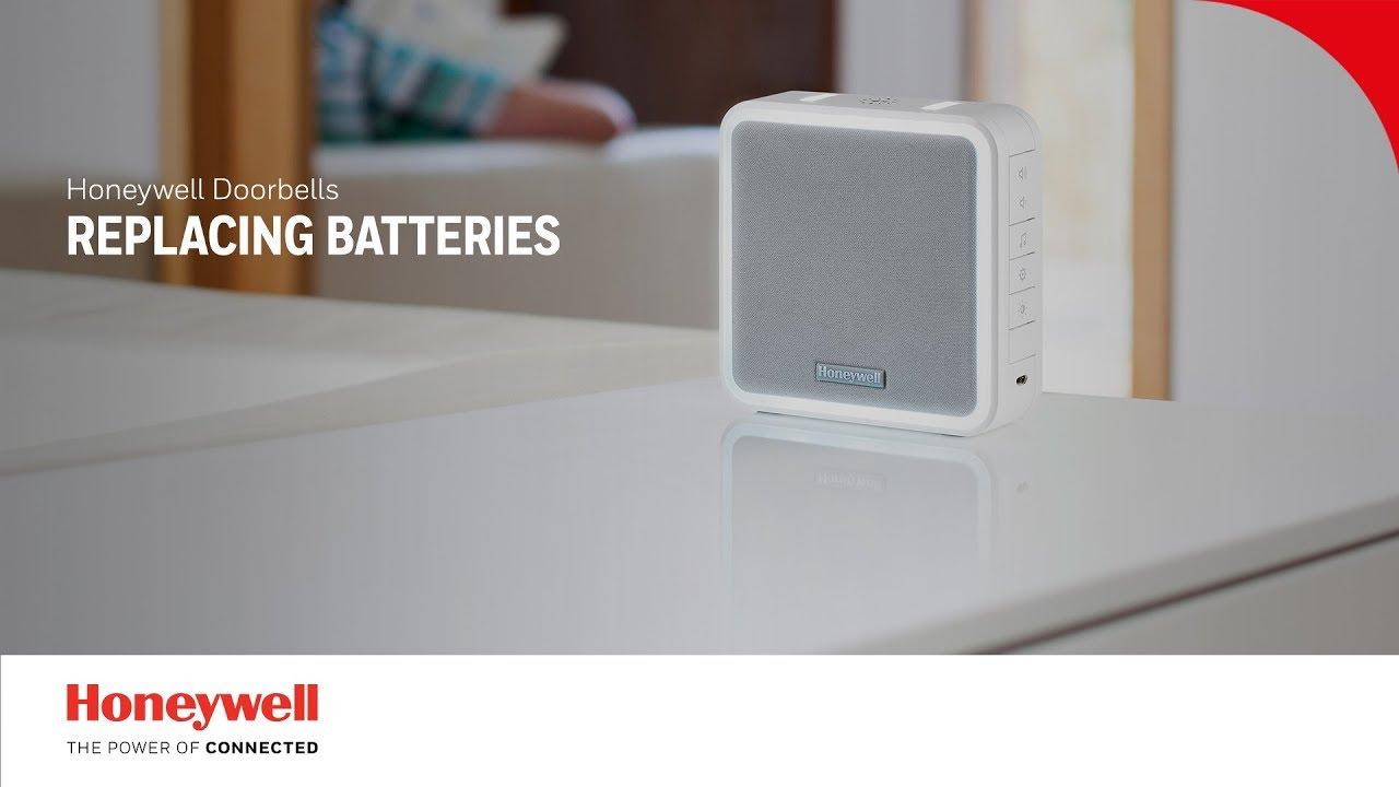 How to replace the batteries | Doorbells | Honeywell Home