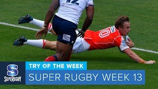 TRY OF THE WEEK: 2018 Super Rugby Week 13