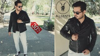 Allsaints Taro Leather Jacket Review | Cargo Leather Jacket Update Review.