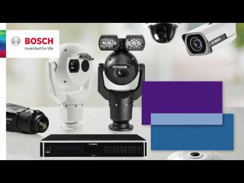 Bosch Security – Video Analytics software – Traffic incidents