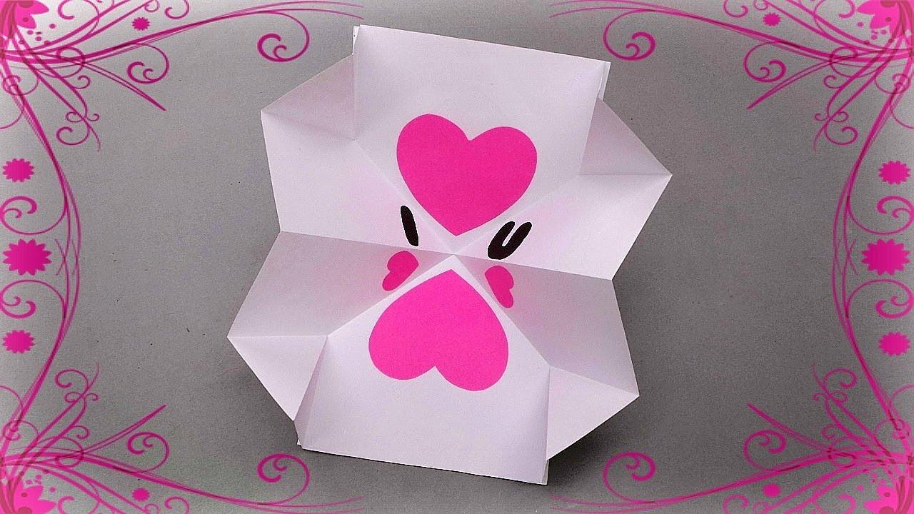 Открытка оригами на день матери, модераторы прикольные