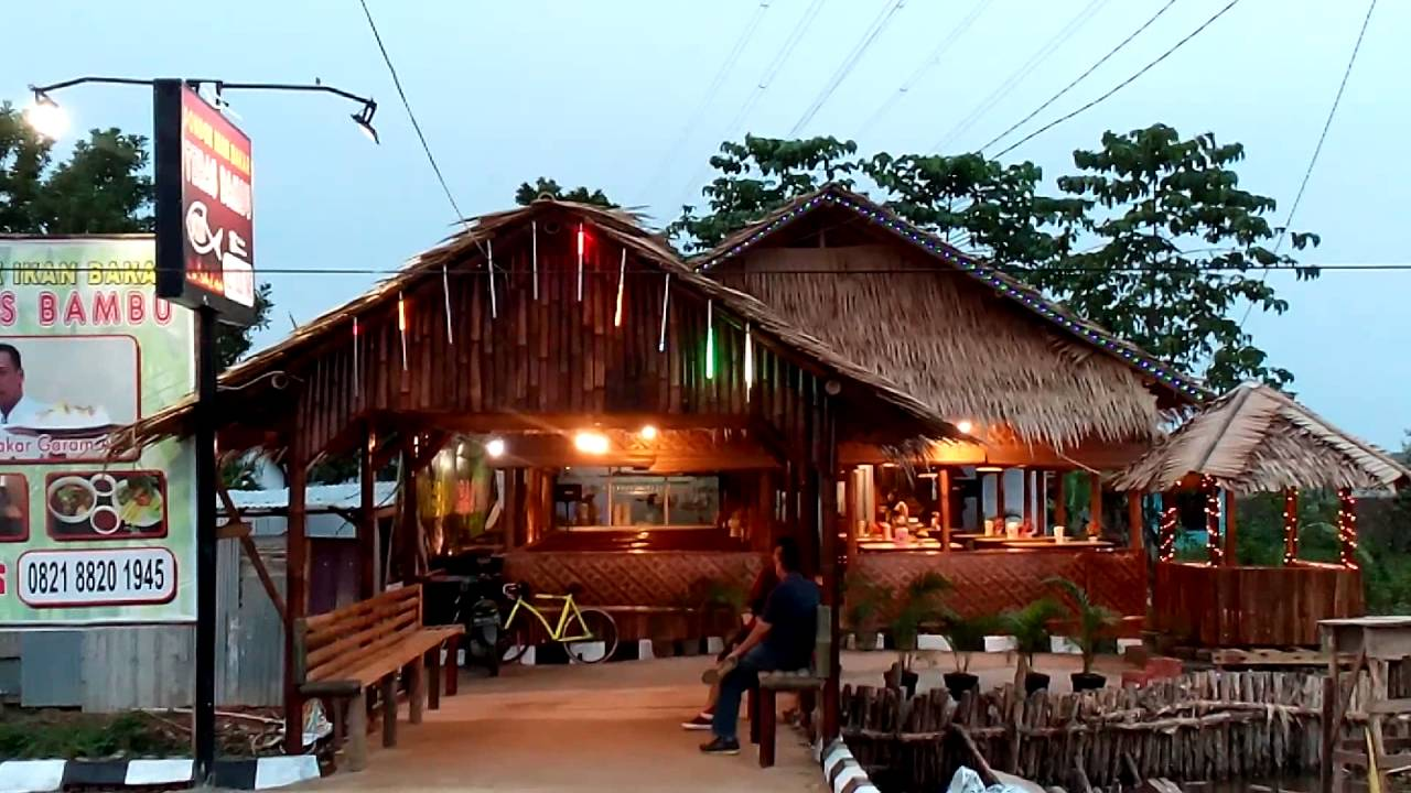 Pondok Ikan Bakar Teras Bambu Palembang Youtube