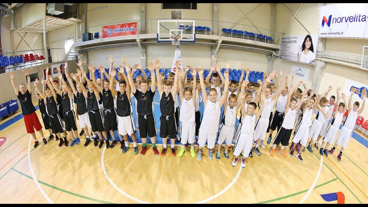 Startavo BasketNews.lt ir Orion Sports vasaros krepšinio stovykla