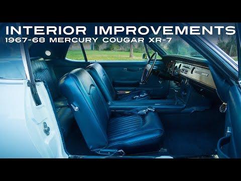 Interior Improvements - 1967-68 Mercury Cougar XR-7